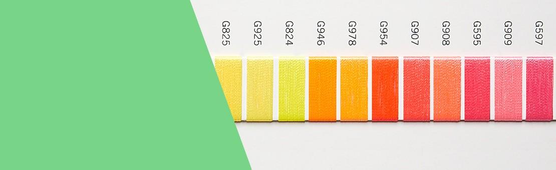 coFEE Stickgarne: Neon-Garne